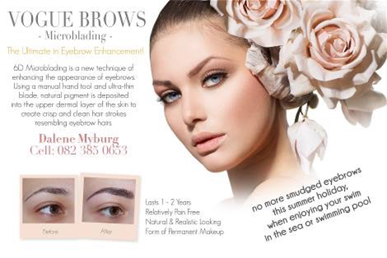 Dalene Myburg Eyebrows